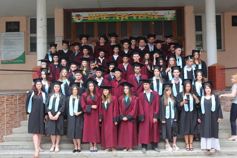 Absolvenţii Colegiului de Ecologie 2017