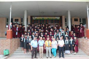 Absolvenţii Colegiului de Ecologie si-au primit diplomele