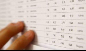 Rezultatele evaluării la examenul de calificare